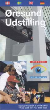 Faltblatt der Oresund Ausstellung